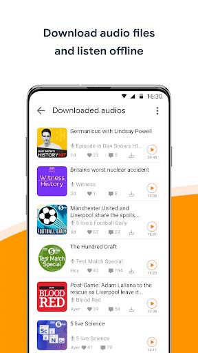 Podcast & Radio iVoox -  Audio without limits 1 تصوير الشاشة