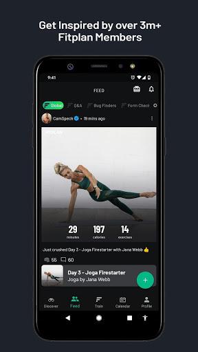 Fitplan: Home Workouts and Gym Training screenshot 3