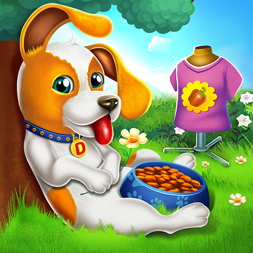 Cute Puppy Pet Care & Dress Up Game icon