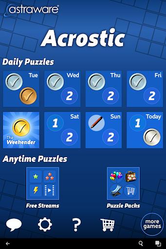 Astraware Acrostic screenshot 11