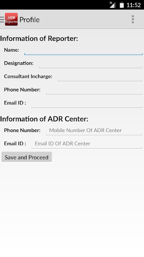 ADR Reporter screenshot 3