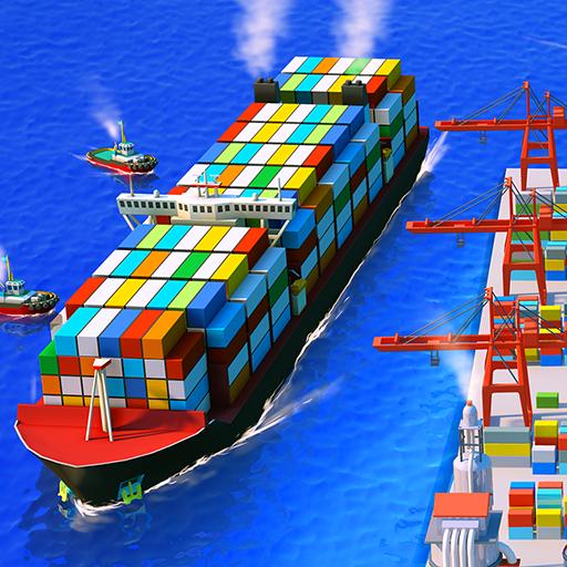 Sea Port: สร้าง Town & Ship Cargo ในซิม Strategy icon