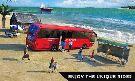 River Coach Bus Simulator Game screenshot 4