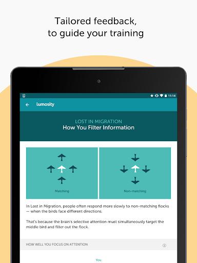 Lumosity: Brain Training screenshot 23
