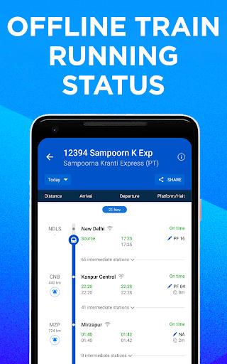 IRCTC Train Booking, PNR Status, Running Status скриншот 2