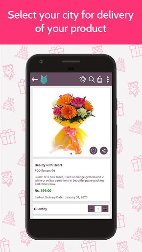 Flowers Cakes Online: Gifts Delivery скриншот 3