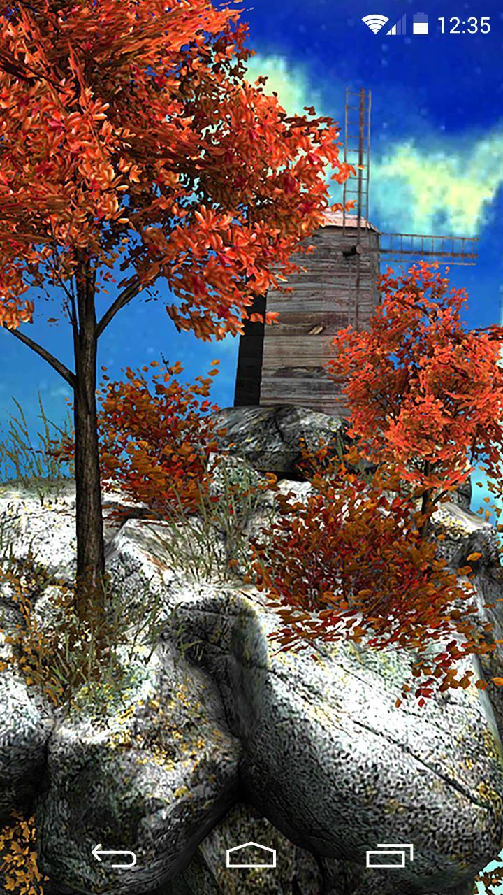 Fly Island Free 3D LWP screenshot 3
