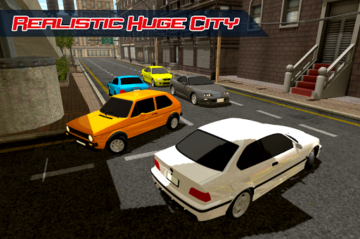 Car Driving Simulator in City screenshot 6