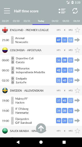 تنبؤات وإحصائيات كرة القدم والمراهنات 8 تصوير الشاشة