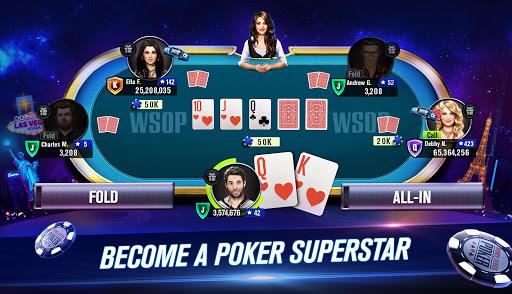 World Series of Poker WSOP Pokeren Gratis screenshot 1