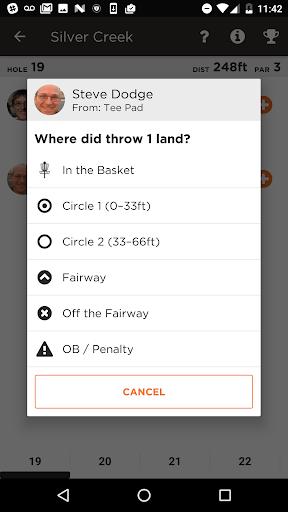 UDisc Live - Scorekeeper App screenshot 4