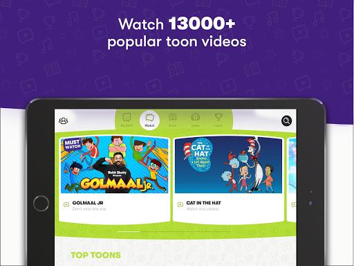 Voot Kids-Cartoons, Books, Quizzes, Puzzles & more screenshot 1