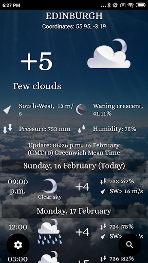 Weather: Any place on earth! 3 تصوير الشاشة