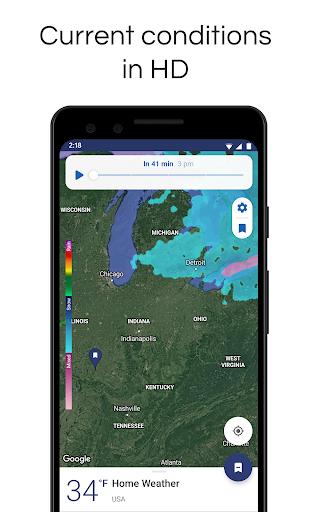 NOAA Weather Radar Live & Alerts – Clime screenshot 2