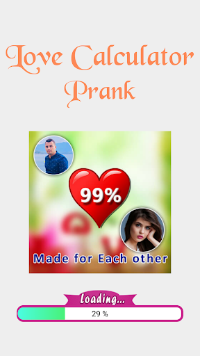 Love Test Calculator Prank 1 تصوير الشاشة