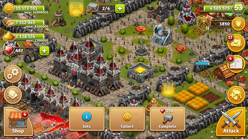 Throne Rush 8 تصوير الشاشة