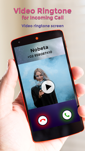 Video Ringtone for Incoming Call screenshot 1
