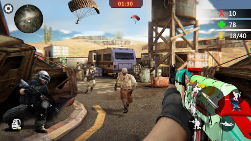 Zombie Trigger: Survival Shooting Games-Sniper FPS screenshot 4