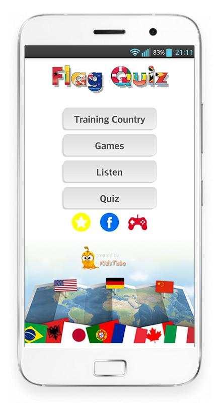 Learn Country - Flag Quiz 2019 screenshot 1
