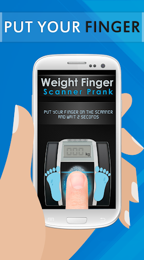 Weight Finger Scanner Prank 2 تصوير الشاشة