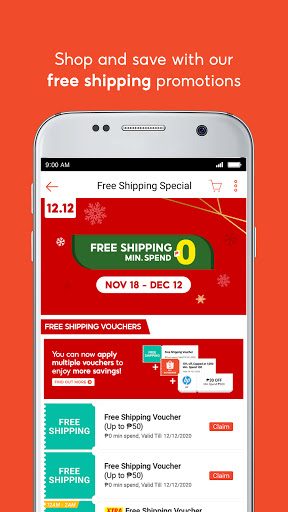 Shopee 12.12 Christmas Sale screenshot 3