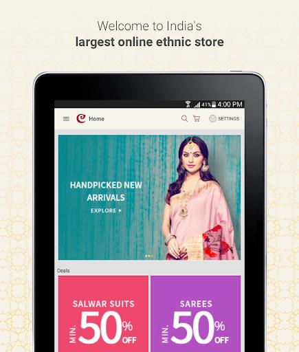 Craftsvilla - Sarees Suits Jewellery Shopping App 13 تصوير الشاشة