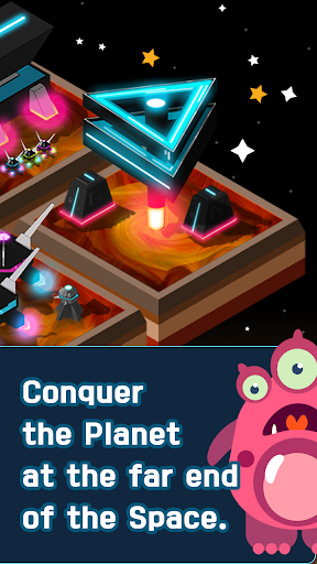 Galaxy of 2048 : Space City Construction Game screenshot 7