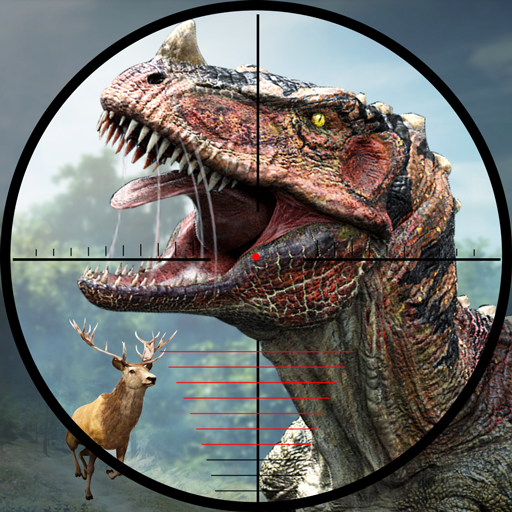 Wild Dino Shooting Adventure : Deer Hunting Games icon