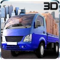 Mini Driver Truck Transport 3D on 9Apps