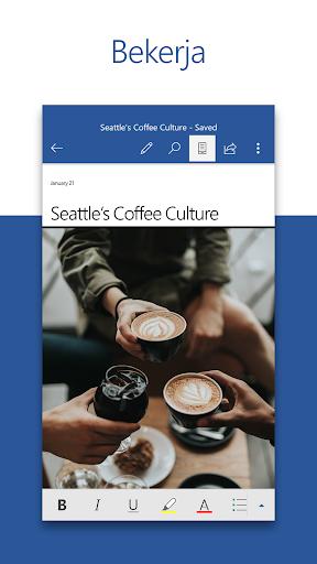Microsoft Word: Buat & Edit Dokumen di mana pun screenshot 1