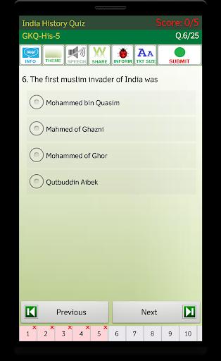 Indian History screenshot 4