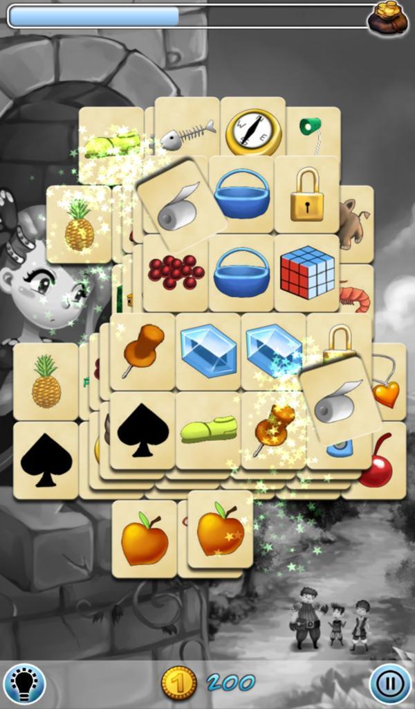 Hidden Mahjong: Rapunzel screenshot 4