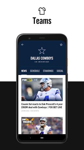 FOX Sports: Latest Stories, Scores & Events screenshot 5