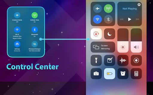 Phone 12 Launcher, OS 14 Launcher, Control Center screenshot 10