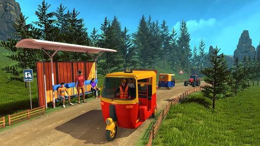 Tuk Tuk Rickshaw: Free Driving Games screenshot 3