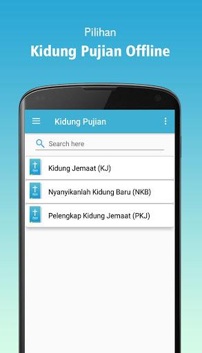 Kidung Pujian (KJ, PKJ, NKB) screenshot 5