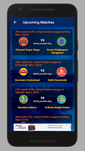 Cricket: Live Line & Fastest Live Score screenshot 6
