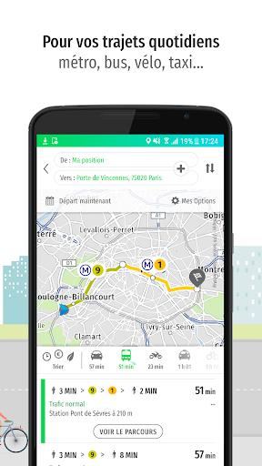 Mappy – Plan, Comparateur d'itinéraires, GPS screenshot 2