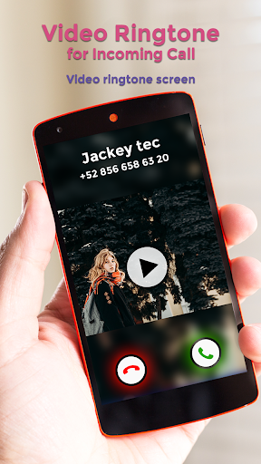Video Ringtone for Incoming Call screenshot 3