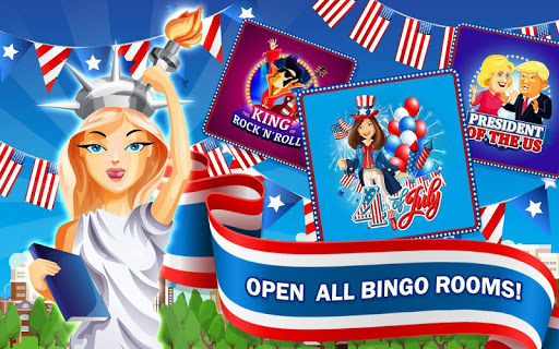 4th of July - American Bingo 5 تصوير الشاشة
