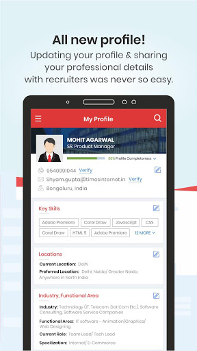 TimesJobs - Job Search and Career Opportunities screenshot 5