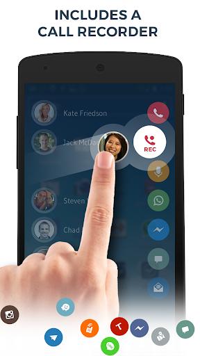 Contacts, Phone Dialer & Caller ID: drupe screenshot 4