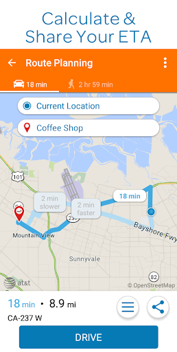 AT&T Navigator: Maps, Traffic screenshot 2