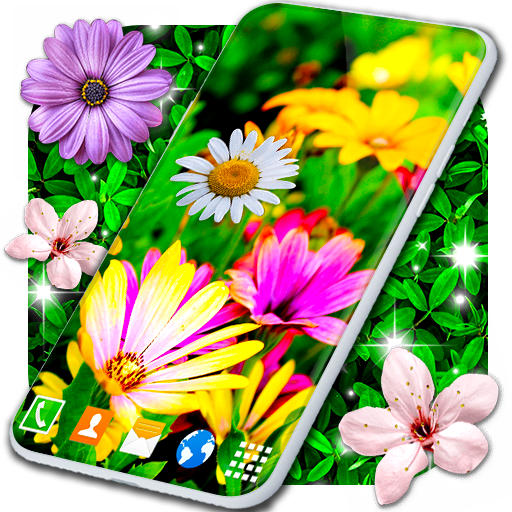 Spring Flowers Live Wallpaper 🌻 Summer Wallpapers иконка