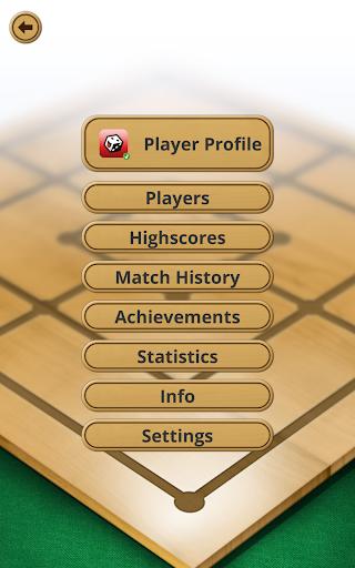 Nine men's Morris - Mills - Free online board game 10 تصوير الشاشة