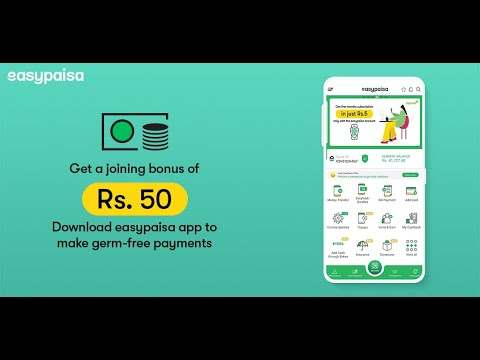 Easypaisa - Mobile Load, Send Money & Pay Bills screenshot 1