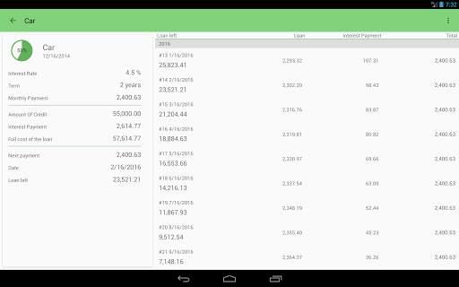 Loan Calculator screenshot 7