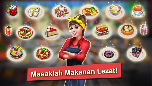 👩‍🍳Food Truck Chef™👨‍🍳 Permainan Memasak🍕🍩🍰 screenshot 6