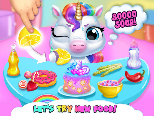 My Baby Unicorn - Virtual Pony Pet Care & Dress Up 14 تصوير الشاشة