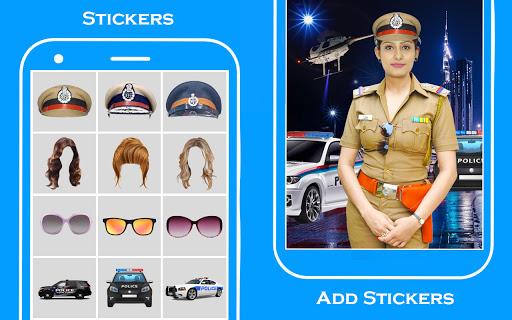 Women Police Suit Photo Editor screenshot 3